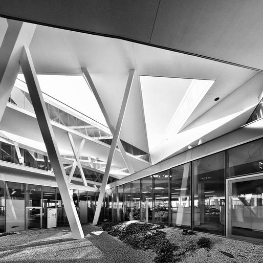 Actelion, Basel Switzerland. Architects Herzog & de Meuron © Pygmalion Karatzas