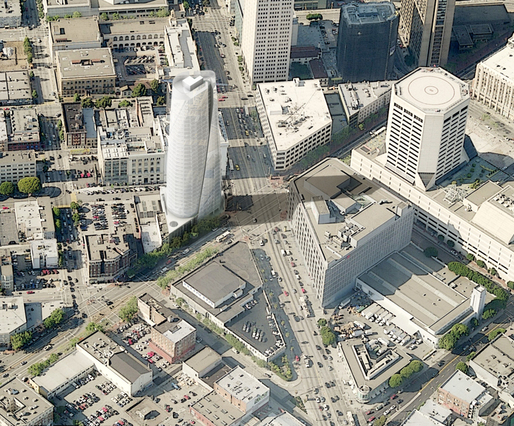 New tower in San Francisco - Richard Meier &amp; Partners