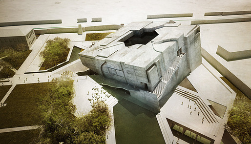 &quot;Timeless Cube&quot;, entry for the National Museum of Afghanistan competition by Matteo Cainer Architects (Image: Matteo Cainer Architects)