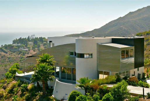 "The Malibu residence featured in Paul Schrader's ""The Canyons."" (Vitus Matare & Associates)"