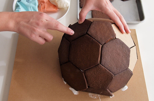 SR Gingerbread Geodesic Dome Kit; Photo courtesy of Scout Regalia