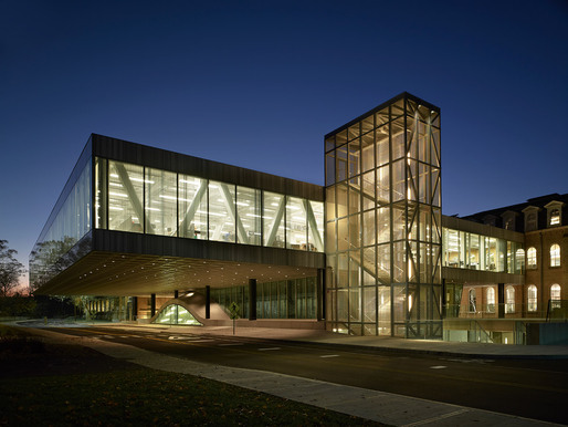 Milstein Hall at Cornell University (The Cornell School of Architecture), Architect: OMA/Rem Koolhaas  Brad Feinknopf