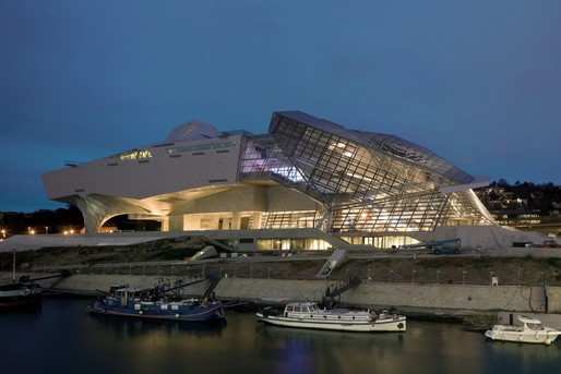 Coop Himmelb(l)au's newly inaugurated Musée des Confluences in Lyon. Photo: Duccio Malagamba, via coop-himmelblau.at