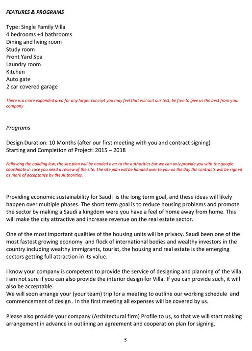 best RFP ever (real scam, also best ever) | Forum | Archinect