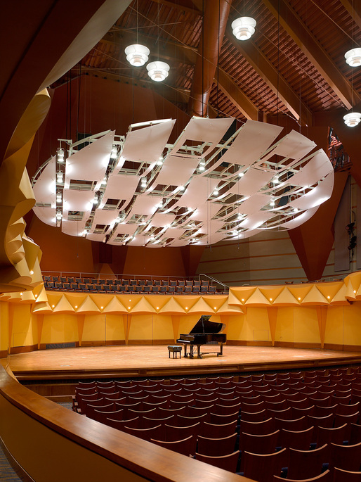 California State University - Fullerton: Joseph A. W. Clayes Performing Arts Center by Pfeiffer Partners Architects. Image courtesy of Pfeiffer Partners Architects