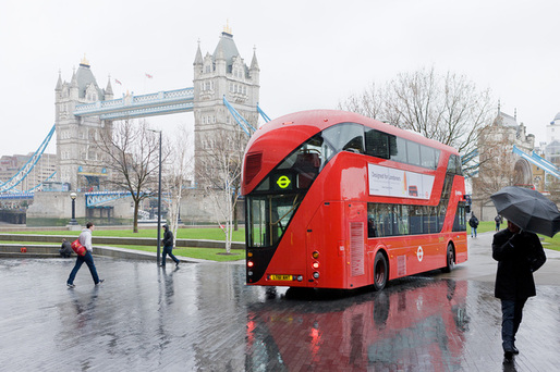 Heatherwick Studio's redesign of London's iconic double-decker buses. Photo: Iwan Baan.