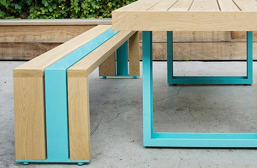SR Outdoor Table Set; Photo: Dylan+Jeni Photography