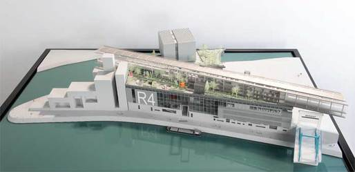 Jean Nouvel's design for the Ile Seguin site. Image via theartnewspaper.com