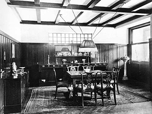 Figure 18 - Steiner house dining area