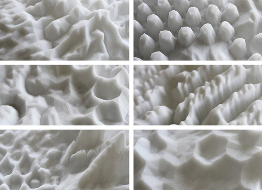 Beta-field, Speculative Landforms, Landformation Catalogue Exhibition, Harvard Graduate School of Design, 2015.