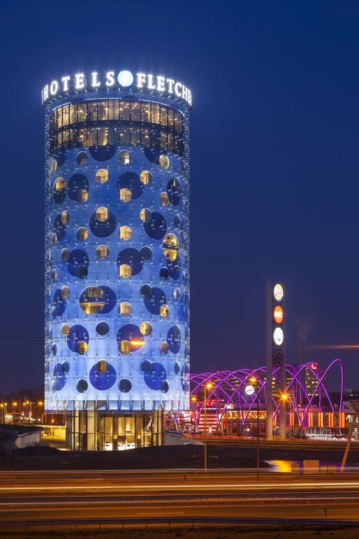 Fletcher Hotel Amsterdam Benthem Crouwel Architects