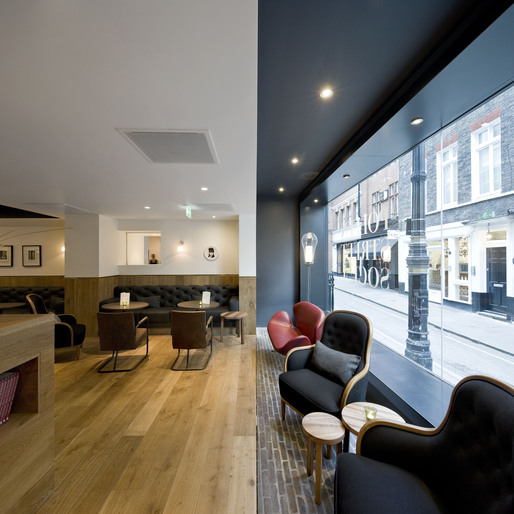 Pollen street social neri hu design and research office for Interior design recruitment agencies london