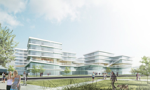 Visualization of the new CEIG Research Center in Shenzhen, China by LYCS Architecture (Image: LYCS Architecture)