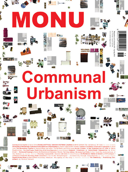 Cover of MONU #18 on Communal Urbanism