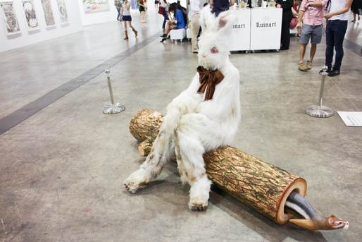 "Marnie Weber - ""Log Lady and Dirty Bunny"""