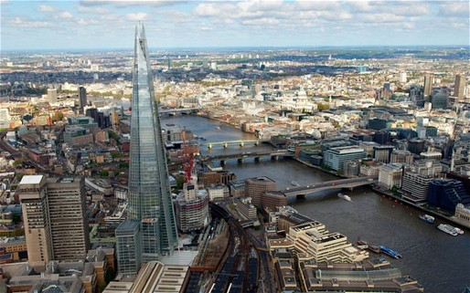  Divisive: Londons Shard rises more than 50m above the next tallest building in the European Union (Photo: Julian Simmonds)