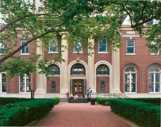 Avery Hall on GSAPP campus. Image courtesy of GSAPP.