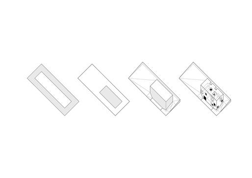 Schematics, courtesy of Bojaus Arquitectura.