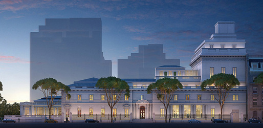 Rendering of the Frick Collection's hotly contested expansion plans by Davis Brody Bond Architects and Planners. (Image courtesy of Neoscape Inc., 2014, via frickfuture.org)