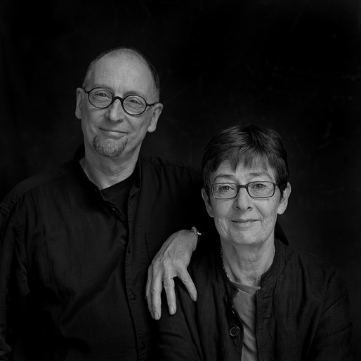 Sheila O'Donnell and John Tuomey, 2015 recipients of the Royal Gold Medal. Photo credit: Amelia Stein.