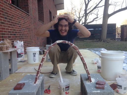 Recipient of the 2013 RAMSA Travel Fellowship: PennDesign Student Jonathan Dessi-Olive (Photo courtesy of Robert A.M. Stern Architects)