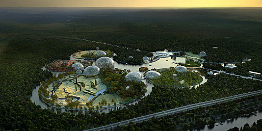 Competition-winning design for the new Primorskiy Zoological Park in Saint Petersburg (Image: Artefactory for TN Plus & Beckmann N'Thépé)