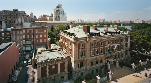 Currently undergoing renovation: the Cooper-Hewitt, National Design Museum inside the Carnegie Mansion in New York City (Photo: Elizabeth Felicella)