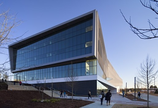 The Snhetta-designed James B. Hunt Jr. Library on North Carolina State Universitys Raleigh campus opened in January to critical acclaim. It took five years and more than $100 million to build the 221,000 square feet library and its parking deck.