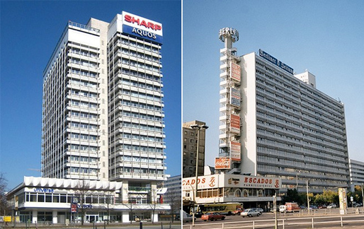 Berliners decided to list the modernist Haus des Reisens and the Haus des Berliner Verlages buildings as protected historical monuments. (Image: Wikimedia Commons; via citylab.com)