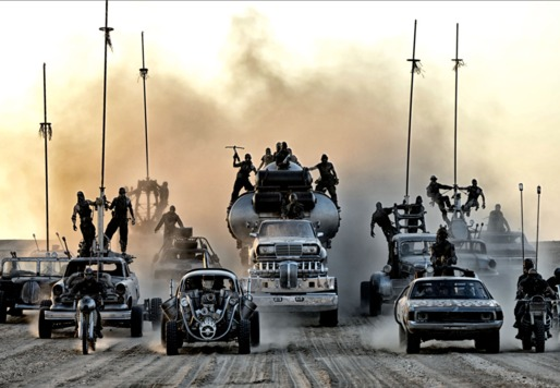 Warner Bros. is teaming up with Uber to bring Mad Max-themed cars to Seattle. Credit: Warner Bros. Entertainment