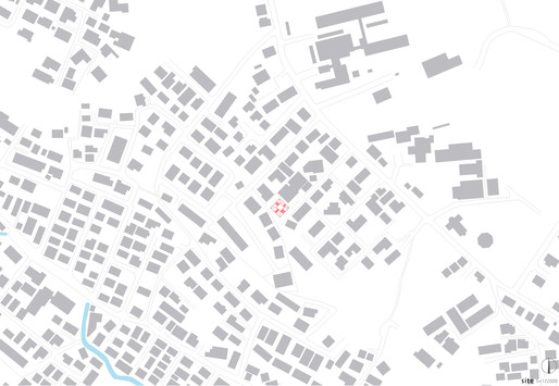 Site plan (Image: Kazuya Saito Architects)