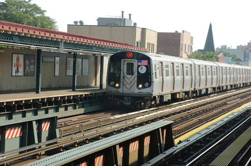Bed bugs have been found on three N trains in NYC. Credit: WikiCommons