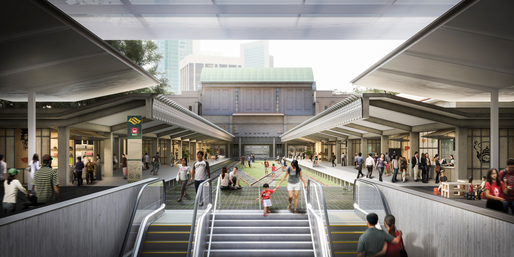 Tanjong Pagar Railway Station - © MKPL Architects