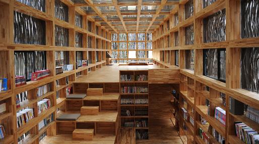 Li Xiaodong's Liyuan Library wins inaugural Moriyama RAIC International Prize. Image courtesy RAIC.