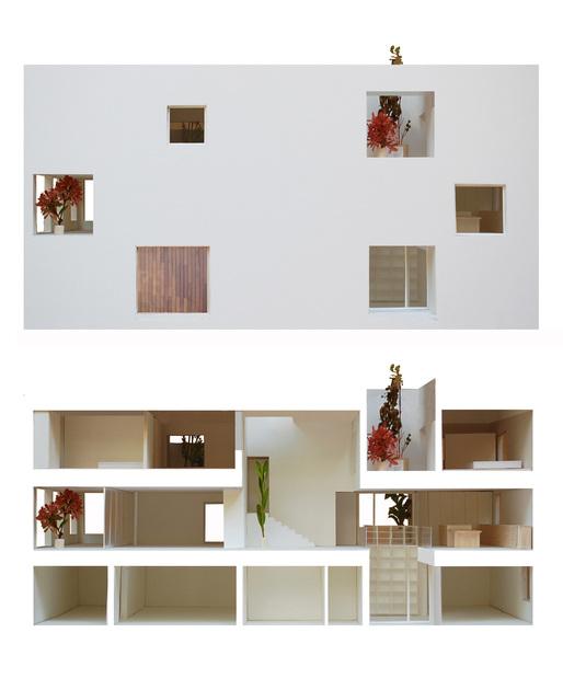 Model of Casa H, courtesy of Bojaus Arquitectura.