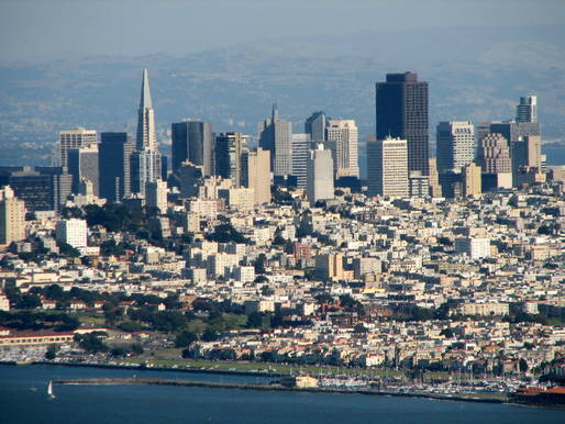 San Francisco skyline. Credit: WikiCommons