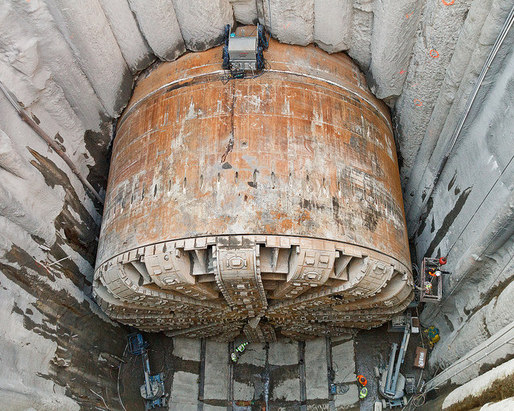 You had one job, Bertha. Photo: Washington State Department of Transportation on Flickr.