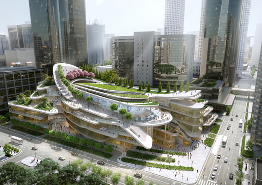 China World Trade Center Phase 3C, Beijing, China, by Andrew Bromberg at Aedas
