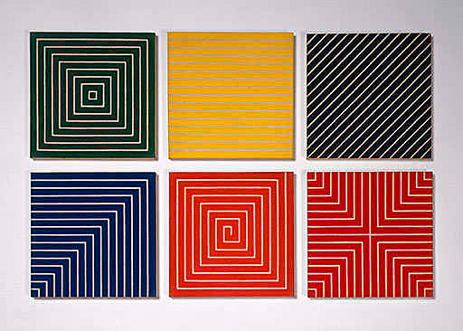 Figure 16 - Hampton Roads, New Madrid, Delaware Crossing, Sabine Pass, Palmito Ranch and Island No. 10 by Frank Stella