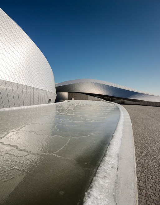 Opening to the public this week: The Blue Planet aquarium in Denmark, designed by 3XN (Photo: Adam Mrk)