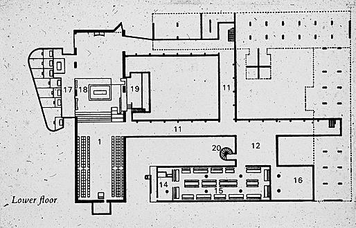 Le Corbusier, La Tourette