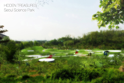 "Honorable mention entry: ""Hidden Treasures - Seoul Science Park"" by Stefano Corbo."