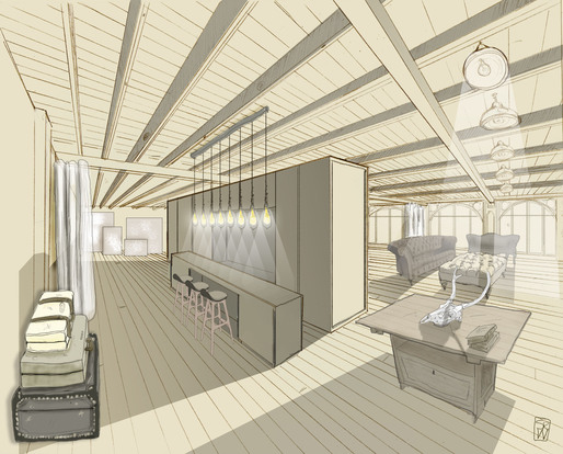 interior drawings stephanie woods archinect