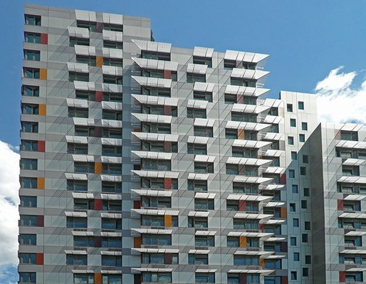 2011 Design Milestone: Michael Kimmelman's new direction for the NYT architecture criticism. Depicted project: Via Verde, a subsidized housing development in the South Bronx by Jonathan Rose, Phipps Houses Group, Grimshaw Architects, and Dattner Architects.