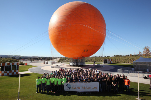 Solar Decathlon 2013 Team Photo. Courtesy of U.S. Department of Energy