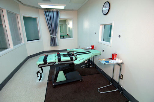 The lethal injection room at California's San Quentin State Prison, completed in 2010. Photo: Wikipedia