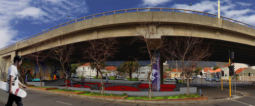 "Competition and Professional Winning entry: ""Cape Town Gardens Skate Park"""