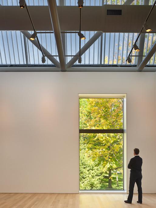 The Kenyon College Gund Gallery, Architect: Graham Gund © Brad Feinknopf