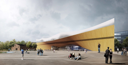 "First Prize: ""Käännös"" by ALA Architects"