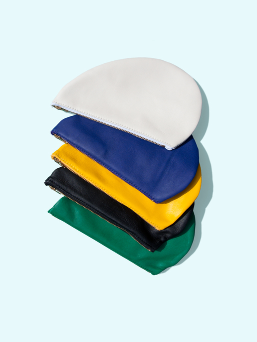 Otaat / Myers Collective oval pouch. Image courtesy of Otaat / Myers Collective.